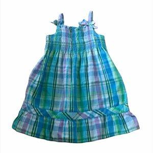 Kid's Kidgets Plaid Summer Dress